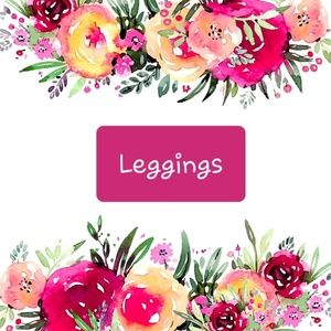 Leggings of all patterns, sizes and brands follow